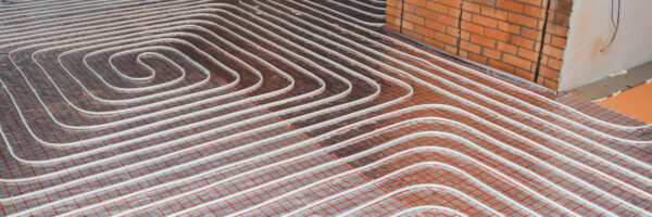 Underfloor Heating Banner Green Con